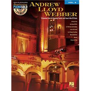 WEBBER ANDREW LLOYD - BEGINNING PIANO SOLO PLAY ALONG VOL.008 + CD