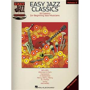 COMPILATION - EASY JAZZ PLAY ALONG VOL.3 EASY JAZZ CLASSICS FOR ALL INSTRUMENTS + CD