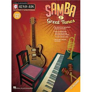 COMPILATION - JAZZ PLAY ALONG VOL.147 SAMBA + CD