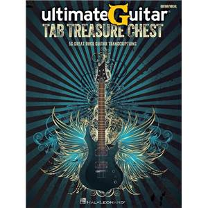 COMPILATION - ULTIMATE GUITAR TAB. TREASURE CHEST GUITAR TAB.