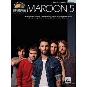 MAROON 5 - PIANO PLAY ALONG VOL.063 + CD