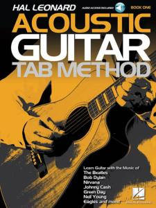 COMPILATION - ACOUSTIC GUITAR TAB. METHOD BOOK 1 + ONLINE AUDIO ACCESS
