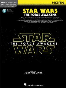 COMPILATION - INSTRUMENTAL PLAY-ALONG: STAR WARS THE FORCE AWAKENS HORN  + ONLINE AUDIO ACCES