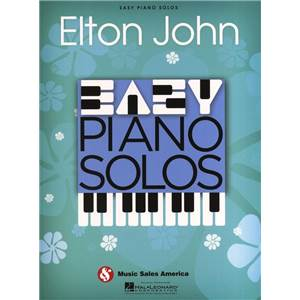 JOHN ELTON - EASY PIANO SOLOS 20 SONGS