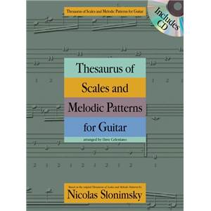 SLONIMSKY NICOLAS - THESAURUS OF SCALES & MELODIC PATTERNS FOR GUITAR + CD
