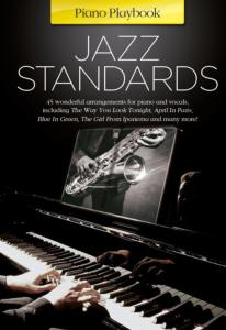 COMPILATION - PIANO PLAYBOOK JAZZ STANDARDS P/V/G