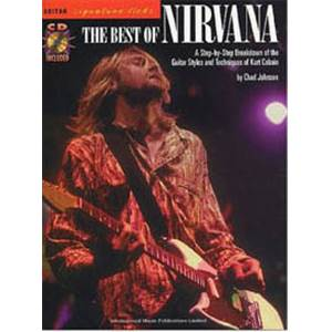 NIRVANA - SIGNATURE LICKS TAB. + CD