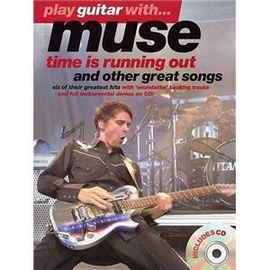 MUSE - PLAY GUITAR WITH TIME...GUITAR TAB. + CD