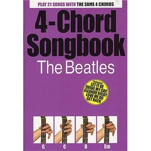 BEATLES THE - 4 CHORD SONGBOOK 21 SONGS