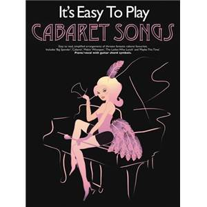 COMPILATION - IT'S EASY TO PLAY CABARET SONGS