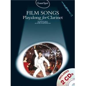 COMPILATION - GUEST SPOT FILM SONGS CLARINET + 2CD