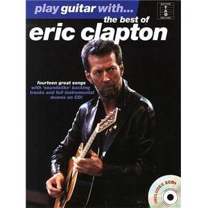 CLAPTON ERIC - PLAY GUITAR WITH THE BEST OF + 2CD