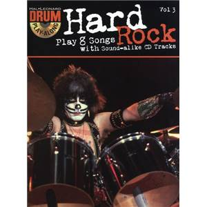 COMPILATION - DRUM PLAY ALONG VOL.3 HARD ROCK + CD