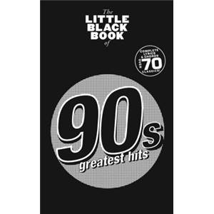 COMPILATION - LITTLE BLACK SONGBOOK THE 90'S HITS PLUS DE 70 CHANSONS FORMAT POCHE