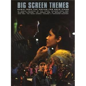 COMPILATION - MUSIC FROM THE MOVIES BIG SCREEN THEMES PIANO SOLOS