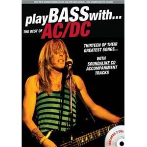 AC/DC - BEST OF PLAY BASS WITH + 2CD