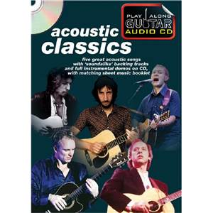 COMPILATION - ACOUSTIC CLASSICS PLAY ALONG GUITAR + CD