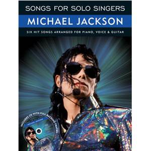 JACKSON MICHAEL - SONGS FOR SOLO SINGERS + CD