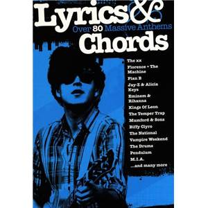 COMPILATION - LYRICS AND CHORDS 80 MASSIVE ANTHEMS