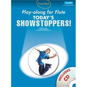 COMPILATION - GUEST SPOT FLUTE TODAY'S SHOWSTOPPERS + CD