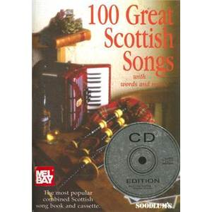 COMPILATION - GREAT SCOTTISH SONGS (100) + CD