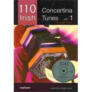 COMPILATION - 110 IRELAND'S BEST CONCERTINA TUNES VOL.1 + CD