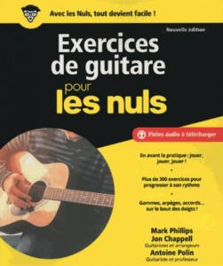 POLIN / CHAPELL /  PHILIPPS - POUR LES NULS EXERCICES GUITARE