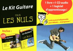 PHILLIPS / CHAPPELL - POUR LES NULS  KIT GUITARE + CDROM + CD - GUITARE