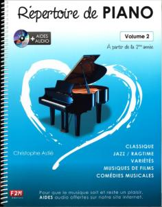 REPERTOIRE DE PIANO VOLUME 2 + CD - PIANO