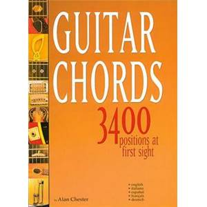 CHESTER ALAN - GUITAR CHORDS 3400 POSITIONS