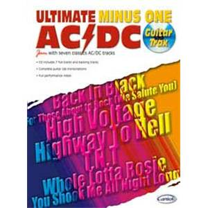 AC/DC - ULTIMATE MINUS ONE GUITAR TRAX + CD