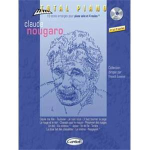 NOUGARO CLAUDE - COLLECTION TOTAL PIANO + CD