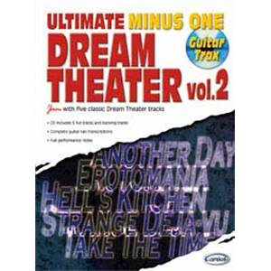 DREAM THEATER - ULTIMATE MINUS ONE GUITAR TRAX VOL.2 + CD