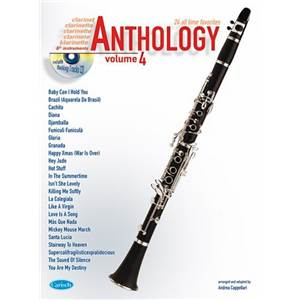 COMPILATION - ANTHOLOGY CLARINET AND OTHER BB INSTRUMENTS VOL.4 + CD
