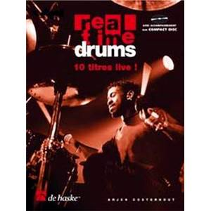 OOSTERHOUT ARJEN - REAL TIME DRUMS IN SONGS VOL.1 10 TITRES LIVE + CD