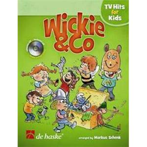 SCHENK MARKUS - WICKIE ET CO, TV HITS FOR KIDS POUR CLARINETTE + CD