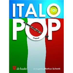 COMPILATION - ITALO POP POUR CLARINETTE + CD