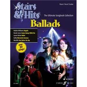 COMPILATION - BALLADS (STARS AND HITS) P/V/G