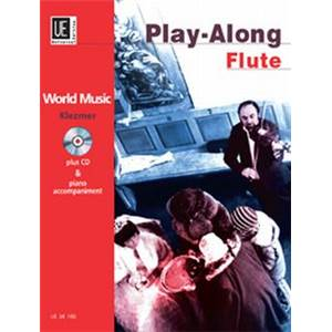 COMPILATION - WORLD MUSIC KLEZMER FLUTE/PIANO + CD