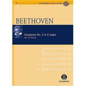 BEETHOVEN - SYMPHONIE NO.3 OP.55 MIB MAJ HEROIQUE + CD