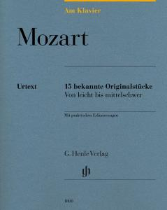 MOZART W.A. - AM KLAVIER (15 PIECES ORIGINALES) - PIANO