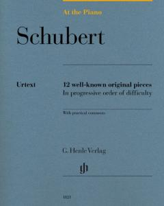 SCHUBERT FRANZ - AT THE PIANO (12 PIECES ORIGINALES) - PIANO
