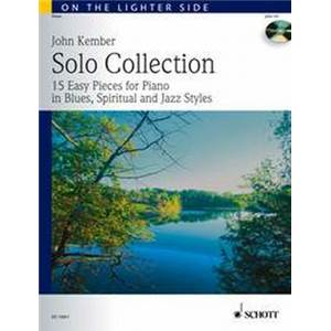 KEMBER JOHN - SOLO COLLECTION (15 PIECES BLUES SPIRITUALS)+ CD PIANO