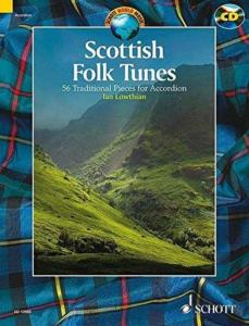 SCOTTISH FOLK TUNES +CD (54 TRADITIONNELS ECOSSAIS) - ACCORDEON