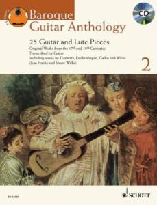 BAROQUE GUITAR ANTHOLOGY VOL.2 +CD - GUITARE OU LUTH