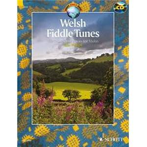 COMPILATION - WELSH FIDDLE TUNES + CD (97 TRADITIONNELS GALLOIS) VIOLON