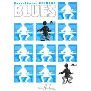 HEUMANN HANS GUNTER - BLUES 10 PIECES POUR PIANO