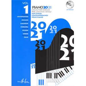 IBANEZ GENEVIEVE - PIANO 20-21 VOL.1 + CD - PIANO