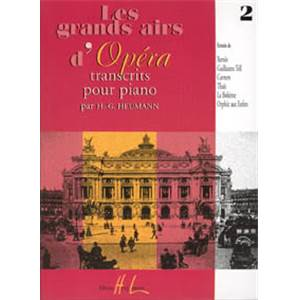 HEUMANN HANS GUNTER - GRANDS AIRS D'OPERA VOL.2 - PIANO