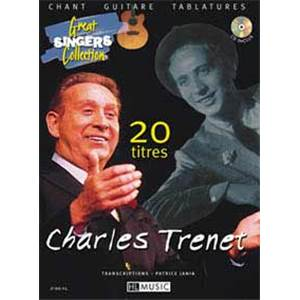 TRENET CHARLES - GUITARE/ CHANT 20 TITRES + CD